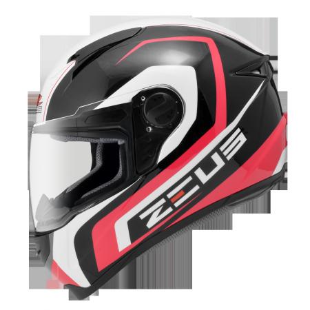Compact full face helmet